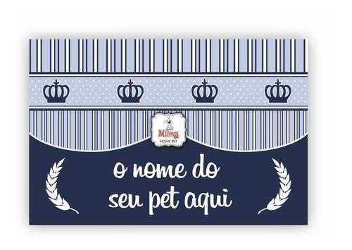 tapete p/ comedouro pet personalizado