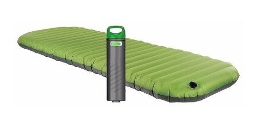 tapete pad individual de lujo aerobed con bomba coleman