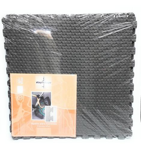 tapete para ejercicio stayin shape 63cmx63cmx1.2cm 4pzs