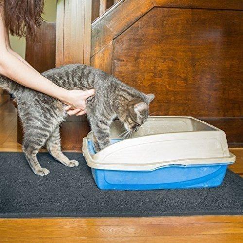 tapete para gatos atrapa pelo, arena - facil limpieza