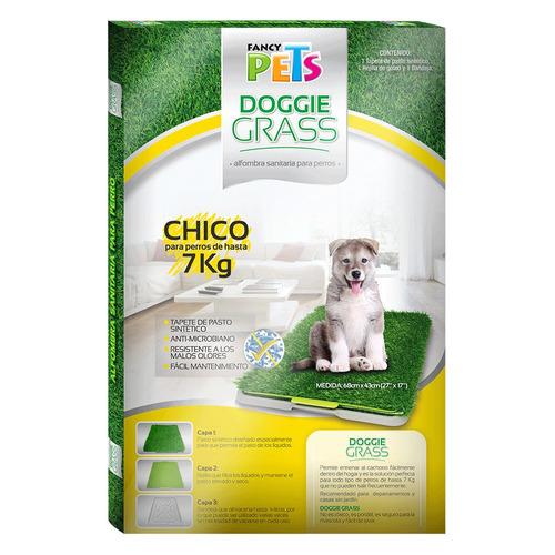 tapete para perro doggie grass. envio gratis