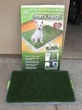 tapete para perros potty patch  ( tv)  excelente¡