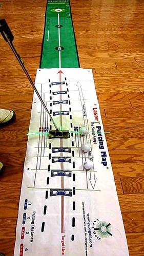 tapete para practicar golf