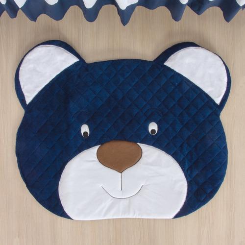tapete para quarto bebê urso marinho