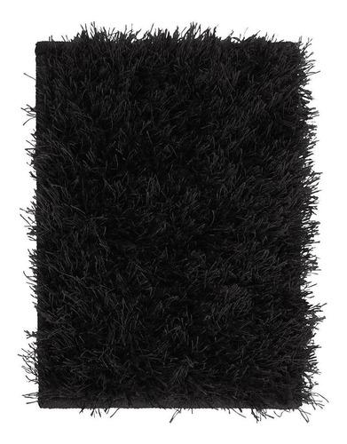 tapete para quarto belmont preto 0,50x0,80 são carlos