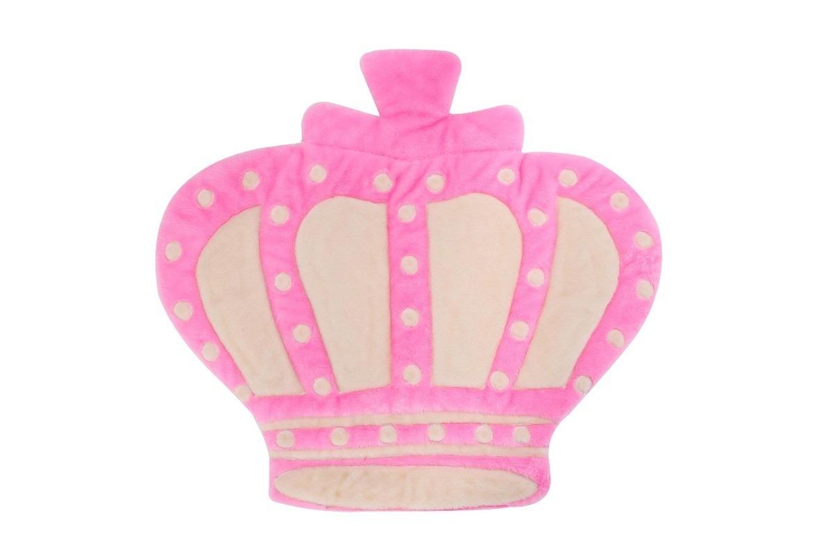 Tapete Para Quarto De Bebê Menina Princesa Coroa Rosa  ~ Quarto Rosa Fucsia