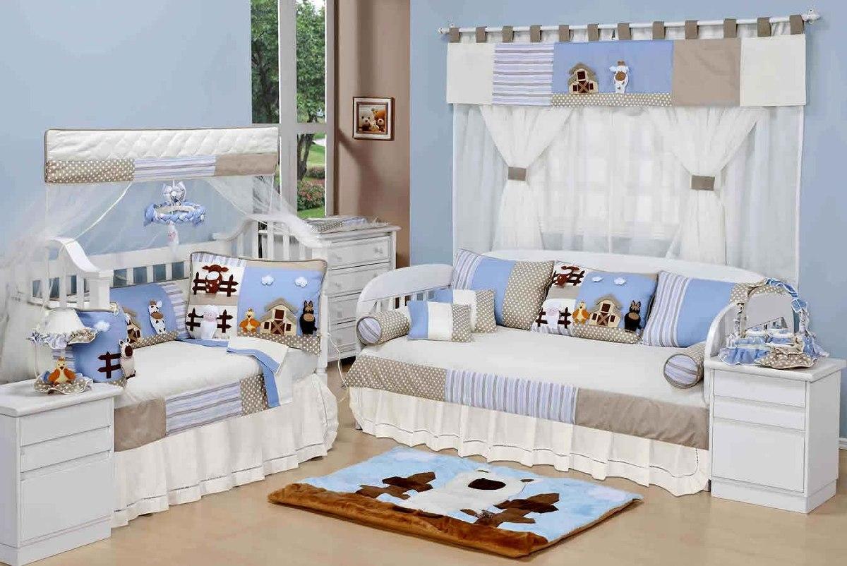 tapete para quarto de beb menino animais fazendinha p hb
