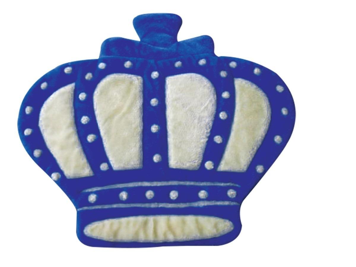 Tapete Para Quarto De Bebê Príncipe Coroa Marinho Lb527  ~ Tapete Para Quarto Azul