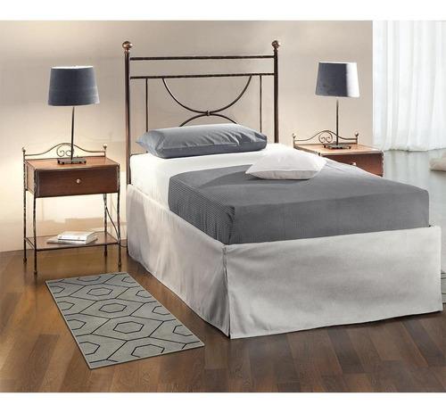 tapete para quarto herat export gray 0,50x1,00 são carlos