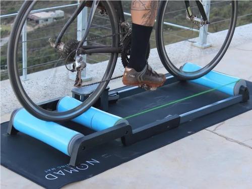 tapete para rolo de treino bike - training mat nomad
