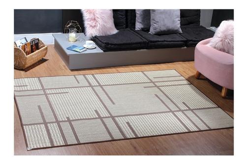 tapete para sala antiderrapante sisal 1,00x1,50 diversos