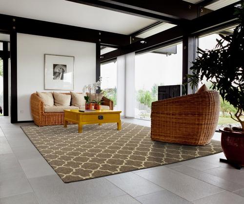 tapete para sala geometrico modelo bali vinter 41/79 2,00 x 2,50 metros, são carlos