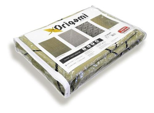 tapete para sala origami forma 1,00x1,50 são carlos