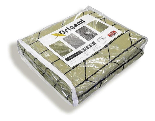 tapete para sala origami magica 2,00x2,50 são carlos