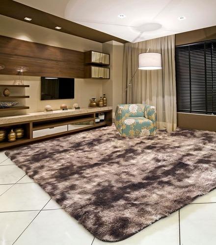 tapete para sala, peludo, felpudo, luxo, macio 2,00 x 2,40