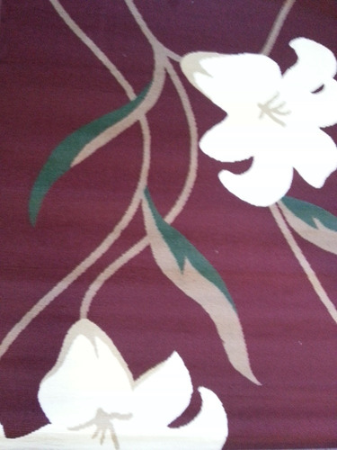tapete para sala persa renaissance 1.33x1.90mts tulipa vinho