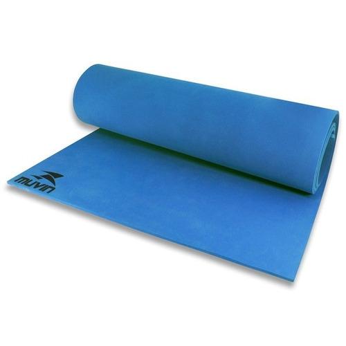 tapete para yoga em eva - azul royal