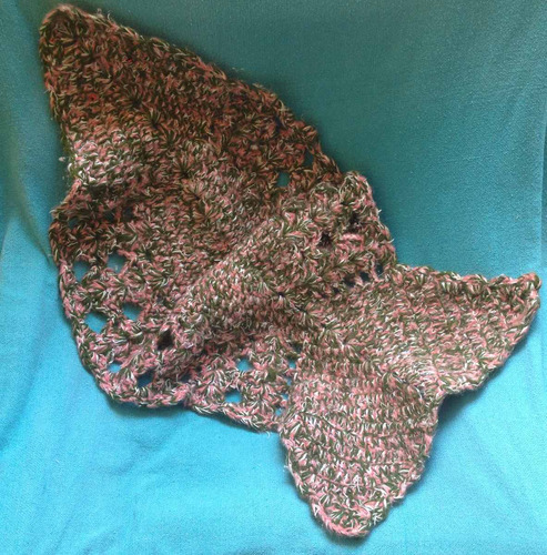 tapete passadeira crochê colorido artesanal formato peixe