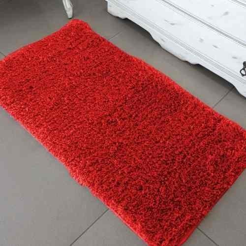 tapete passadeira jolitex 0,66 cm x1,80 m vermelha