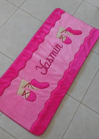 789e31fc05 Tapete Passadeira Para Quarto De Menina Ballet Pink E Rosa