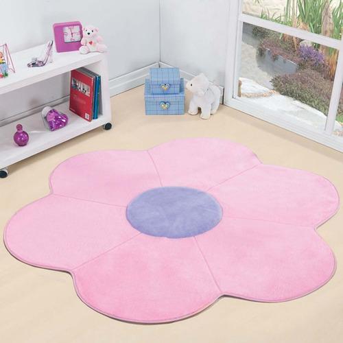 tapete pelúcia margarida big - decoração quarto infantil