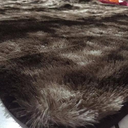 tapete peludo, felpudo de sala ou quarto luxo  2,00 x 1,50