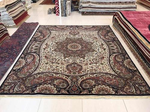 tapete persa 3x2.5m 2.5x3m 2 milhões pontos tipo isfahan qom