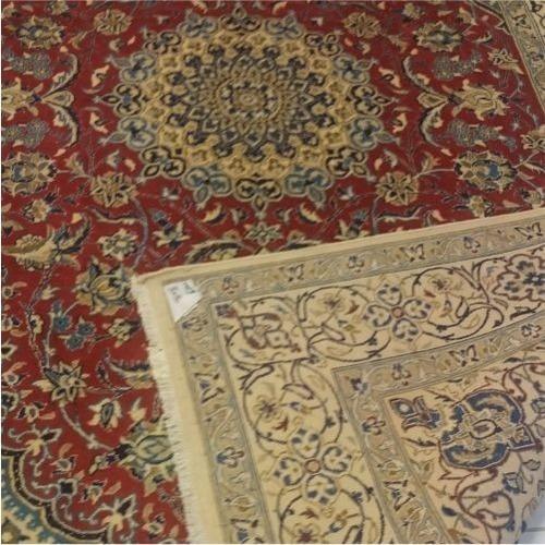 tapete persa nain 305x200cm artesanal legitimo +certificado