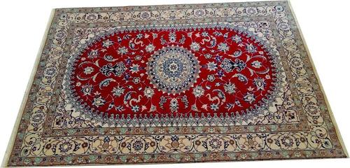 tapete persa nain 310x196cm artesanal legitimo +certificado
