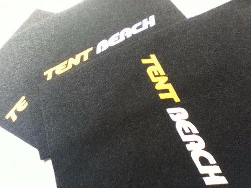 tapete personalizado 1,20 x 0,90 qualquer logo