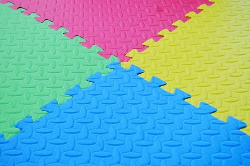 tapete piso de foamy grande 6m grueso fomy foamy fomi