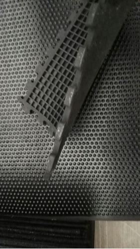 tapete/ piso para gym / gimnasio de 50cmx50cmx13mm