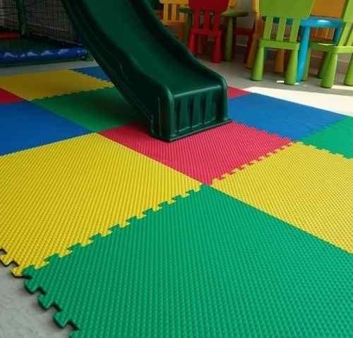 tapete piso rugos foamy fomi grueso 10mm cubre 3 metros2