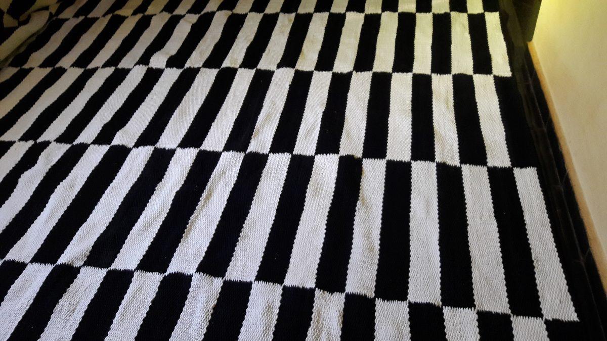 Tapete Preto E Branco Listra Geometrico 1 50 X 2 00 R 430 00 Em