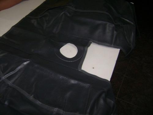 tapete  proteçao fosco  o assoalho da hillux manual 2006/15