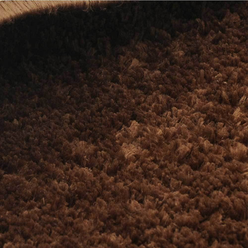 tapete sala 100 x 150 cm classic marrom castor tapetes oasis