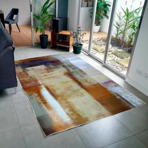 tapete sala estilo nórdico café 160x200 calidad