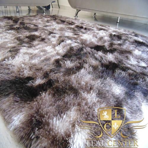 tapete sala luxuoso pelo alto 2,00 x 1,50 varias cores+brind