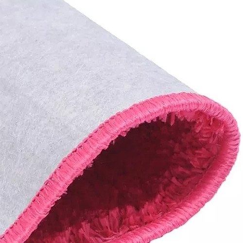tapete sala quarto coleção classic teen 100 x 150 pink