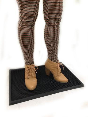 tapete sanitizante de uso rudo para calzado de 60x40 cms.