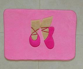 079bb437fa Tapete Sapatilha De Ballet Pink E Rosa Bebê Bailarina