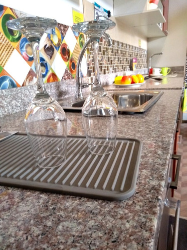 tapete secador para cocina en silicona pequelo ref 63583