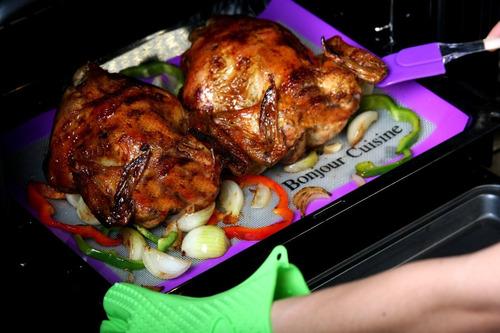tapete silicona hornear horno pastelería repostería cocina 2