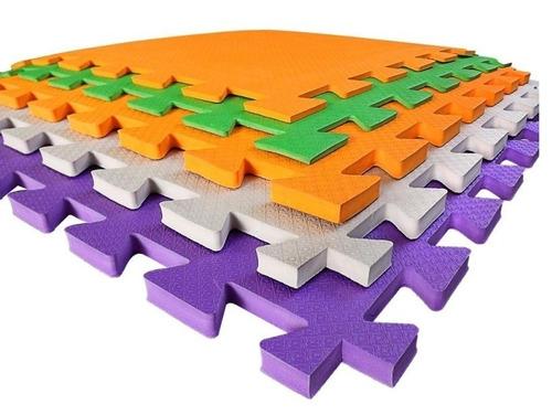 tapete tatame eva com pequenos defeitos 50x50x1cm