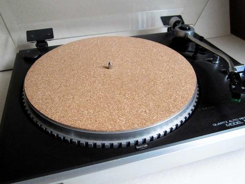 tapete toca-discos cortiça - 30% off - 2mm slipmat karmio a3
