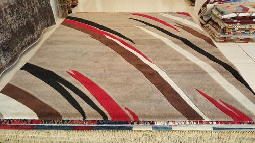 tapete turco moderno luxus 3x2.5m geometrico 2.5x3m