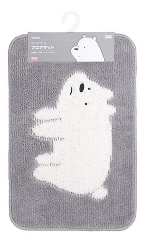 tapete ursos sem curso polar - cor cinza