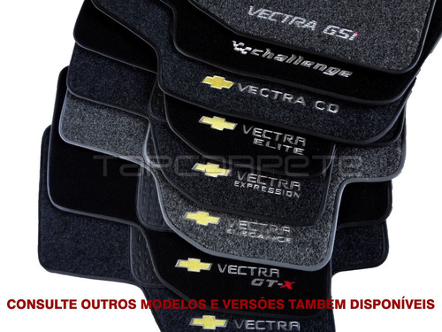tapete vectra (97 a 2005) e (93 a 96) cd , gsi ,challenge...