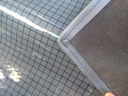 tapete verniz xadrez da d-20  enteiriço tunel baixo