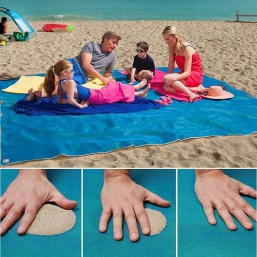tapete verão vazamento de areia esteira areia livre 2,0x2,0m